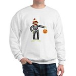 Sock Monkey Halloween Sweatshirt