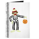 Sock Monkey Halloween Journal