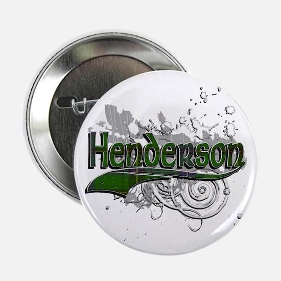 """Henderson Tartan Grunge 2.25"""" Button"""