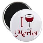 Merlot Drinker Magnet