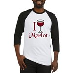 Merlot Drinker Baseball Jersey
