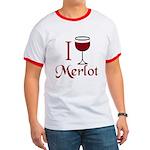 Merlot Drinker Ringer T