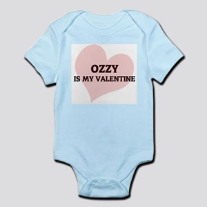 Ozzy Is My Valentine Infant Creeper