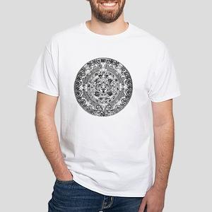 Aztec calendar White T-Shirt