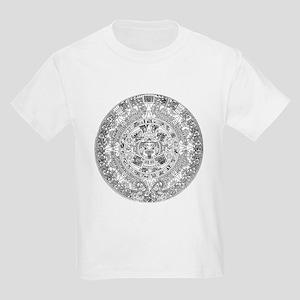 Aztec calendar Kids Light T-Shirt
