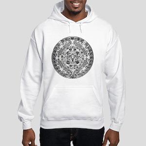 Aztec calendar Hooded Sweatshirt
