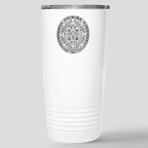 Aztec calendar Stainless Steel Travel Mug