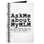Ask Me about My MLM Journal