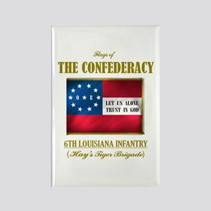 6th Louisiana Infantry Rectangle Magnet