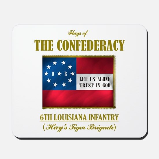 6th Louisiana Infantry Mousepad