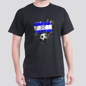 Soccer Fan Greece Dark T-Shirt