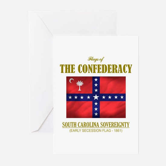 SC Sovereignty Flag Greeting Cards (Pk of 10)
