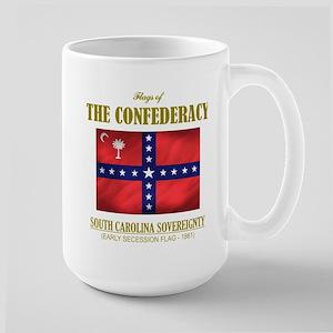 SC Sovereignty Flag Large Mug
