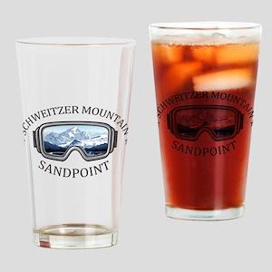 Schweitzer Mountain - Sandpoint - Drinking Glass