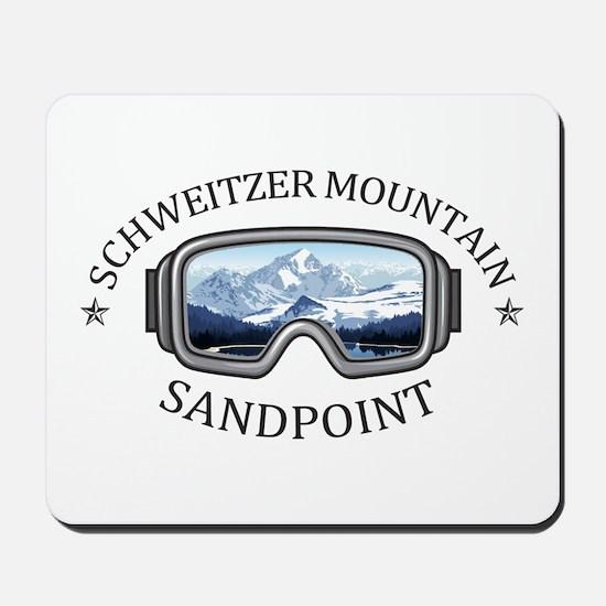 Schweitzer Mountain - Sandpoint - Idah Mousepad