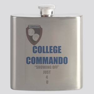 College Commando Flask