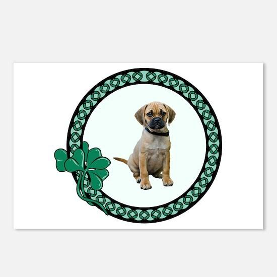 Irish Puggle Postcards (Package of 8)