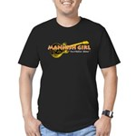 Mannish Girl Men's Fitted T-Shirt (dark)