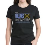 Blues Pirates Women's Dark T-Shirt