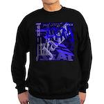 Jazz Black and Blue Sweatshirt (dark)