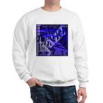 Jazz Black and Blue Sweatshirt