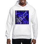 Jazz Black and Blue Hooded Sweatshirt