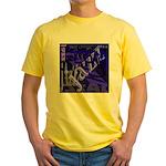 Jazz Black and Blue Yellow T-Shirt