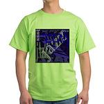 Jazz Black and Blue Green T-Shirt