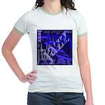 Jazz Black and Blue Jr. Ringer T-Shirt