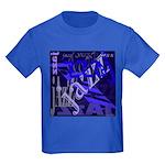 Jazz Black and Blue Kids Dark T-Shirt