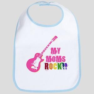 Rock On Moms!! Bib