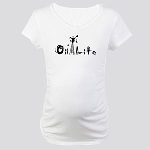 Oil Life Maternity T-Shirt