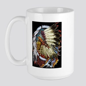 INDIAN CHIEF WHITE CLOUD Large Mug
