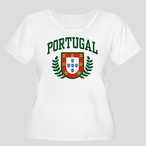 Portugal Women's Plus Size Scoop Neck T-Shirt