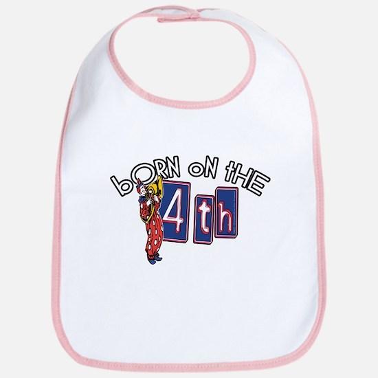 Born on the 4th Clown Bib