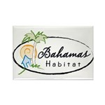 Bahamas Habitat Rectangle Magnet