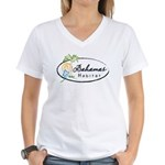Bahamas Habitat Women's V-Neck T-Shirt