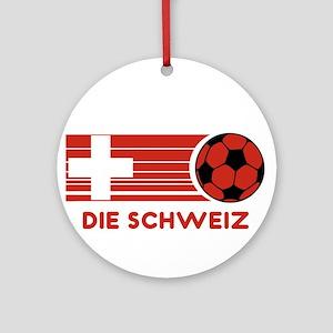 Die Schweiz Ornament (Round)