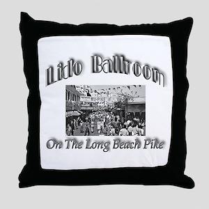 Lido Ballroom Throw Pillow