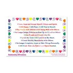 Relationship Affirmations Print