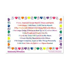 Relationship Affirmations Print