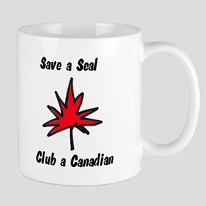 Save a seal, club a Canadian Mug