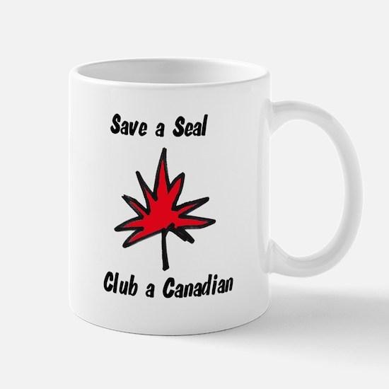 Save a seal, club a Canadian Mug