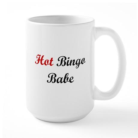 Hot Bingo Babe Large Mug