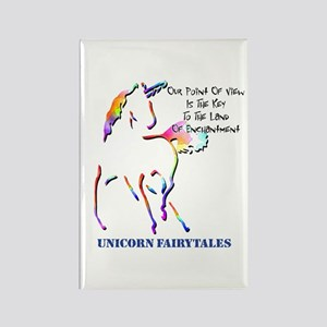 Unicorn Fairytales Rectangle Magnet