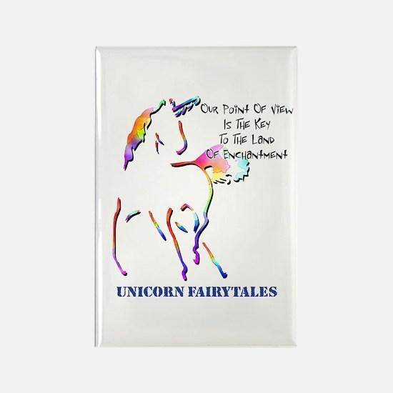 Unicorn Fairytales Rectangle Magnet