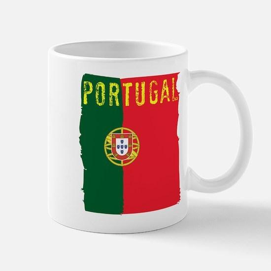 portugal flag Mugs