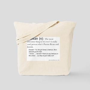 Jewrican Tote Bag