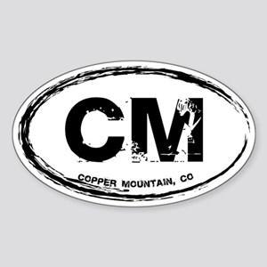 Copper Mountain Sticker (Oval)