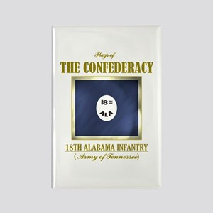18th Alabama Infantry Rectangle Magnet